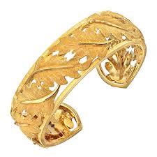 Gold Cuff bracelet pic