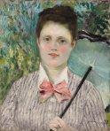 "Renoir's ""Woman with Umbrella"""