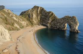 Goodwin includes Durdle Door, Dorset, in one of her scenes.