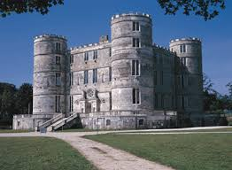 Here's the real Lulworth Castle, now open to the public. Goodwin based Ivo's castle on this one.