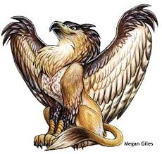 Here's what a gryphon looks like!