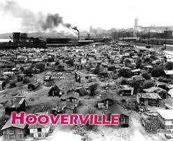 Depression shantytown