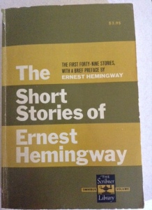 """A Clean, Well-Lighted Place"" - another Hemingway classic!"