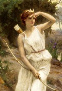 I like this painting of Artemis, artist unknown. medeaslair.net